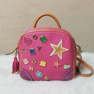 Dooney & Bourke pink backpack bag cute leather
